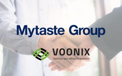MYTASTE GROUP AB SIGNS AGREEMENT WITH, IGAMING AFFILIATE SUPPLIER VOONIX.NET